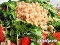 Салат из креветок по-французски