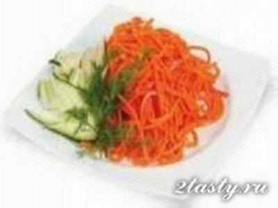 Рецепт Корейский салат из моркови оригинальный (фото)