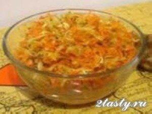 Рецепт Салат из топинамбура с чесноком и майонезом (фото)