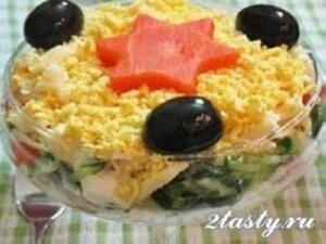 Рецепт Салат с тунцом (фото)