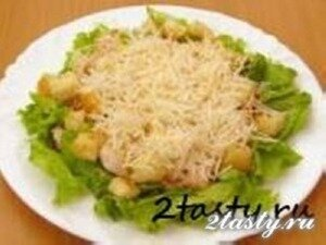 Рецепт Салат цезарь (фото)