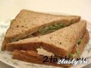Рецепт Сендвич с авокадо (фото)