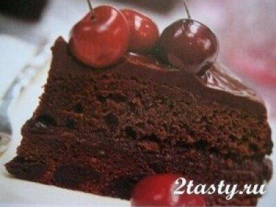 Фото: Шоколадный торт в микроволновке