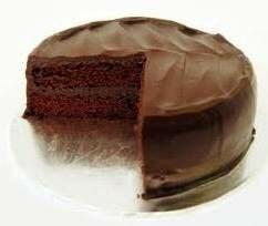 Фото: Шоколадный торт с кефиром и Кока-Колой