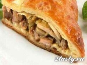 Рецепт Слойки с начинкой из мяса по-гречески (фото)