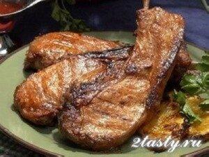 Рецепт Сочные отбивные из свиного мяса (фото)