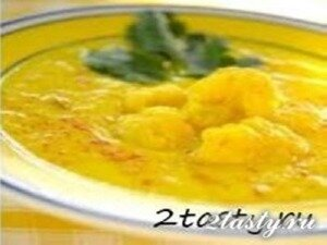 Фото: Суп-пюре из цветной капусты