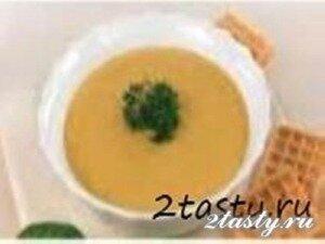 Фото: Суп-пюре из картофеля с морковью