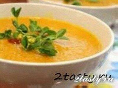 Рецепт Суп-пюре из сельдерея и моркови (фото)