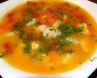 Фото: Суп с чечевицей на курином бульоне