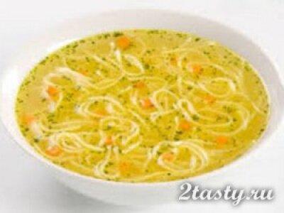 Рецепт Суп с домашней лапшой (фото)