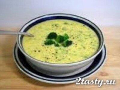 Рецепт Овощной вегетарианский суп (фото)
