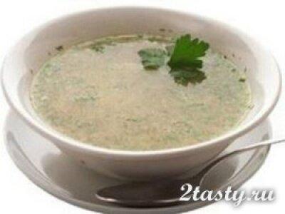 Фото: Слизистый суп из крупы диетический