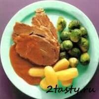 Рецепт Отварная свинина (фото)
