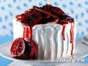 Рецепт Торт с ароматом глинтвейна (фото)