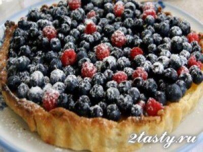 Рецепт Торт с лесными ягодами (фото)
