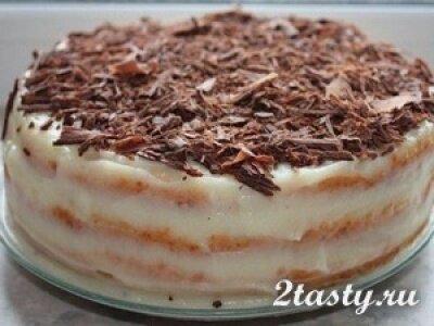 Фото: Творожный торт на сковороде