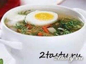 Рецепт Тушеные овощи с яйцами (фото)