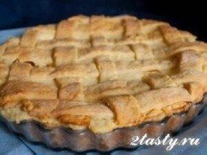 Фото: Пасхальный творожный пирог