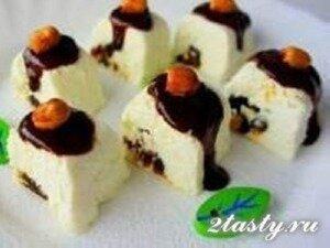 Фото: Творожные роллы с финиками в шоколаде