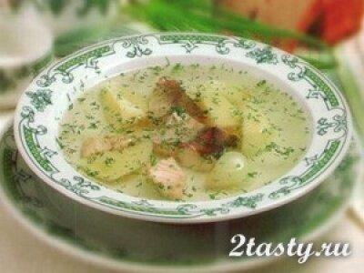 Рецепт Уха из леща с морской капустой (фото)