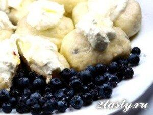 Рецепт Вареники с черникой (фото)