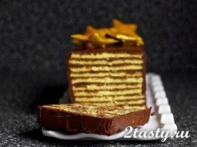 Торт «Добош» венгерский (фото)