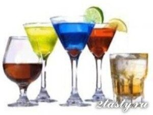 Рецепт Вкусные алкогольные напитки для праздничного стола (фото)