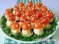 Праздничная закуска «Мухомор»