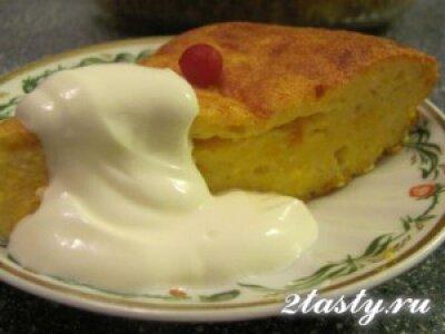 Рецепт Запеканка с печеньем и цитрусовыми (фото)