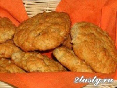 Рецепт Жевательное овсяное печенье (фото)